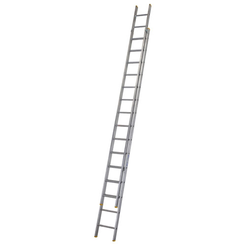 WERNER ALUM 2PCE EXTENSION LADDER  15 RUNG (4.37M - 8.27M)