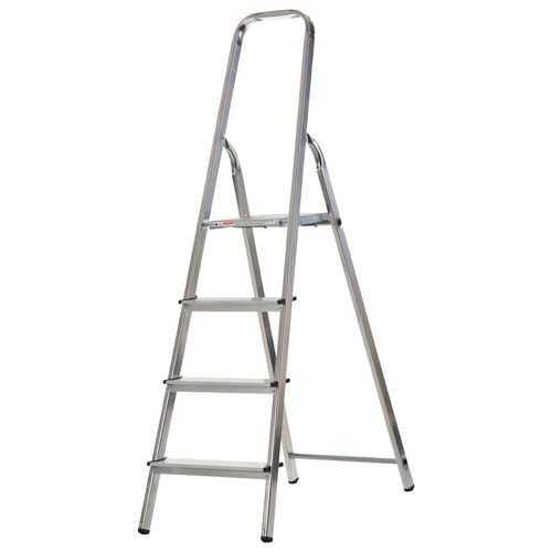 WERNER 4 TREAD ALUMINUM STEP LADDER (74004)