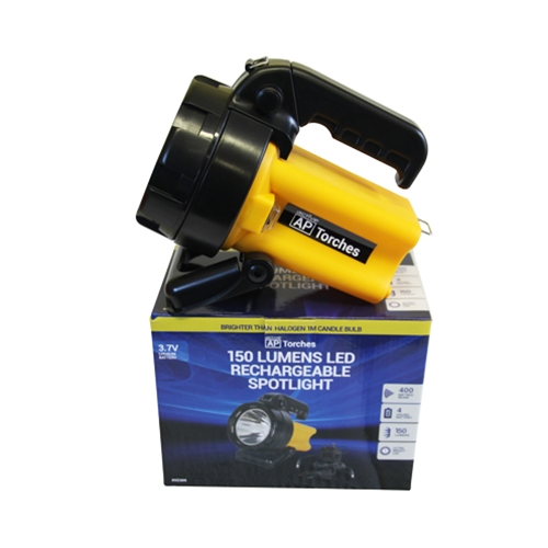 LED RECHARGEABLE SPOTLIGHT 150 LUMENS  ***SOLD SINGLE***
