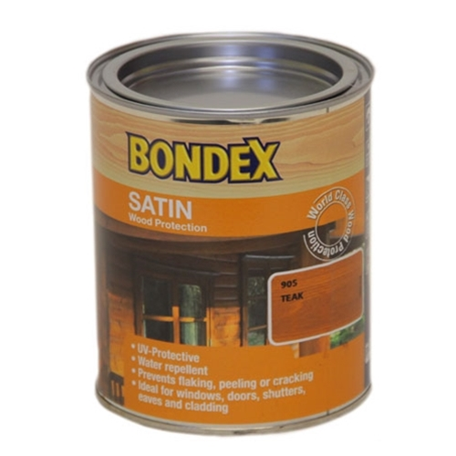 BONDEX 909 SATIN REDWOOD 750ML