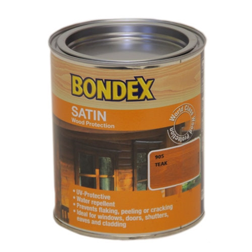 BONDEX 905 SATIN TEAK 750ML
