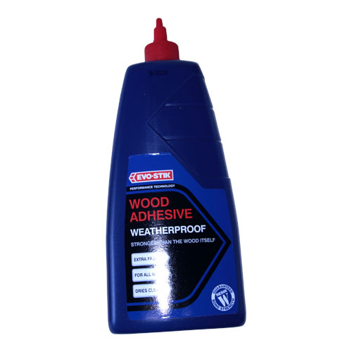 EVO STIK 1LTR RESIN  W WATERPROOF WOOD ADHESIVE  TUBE 30813223