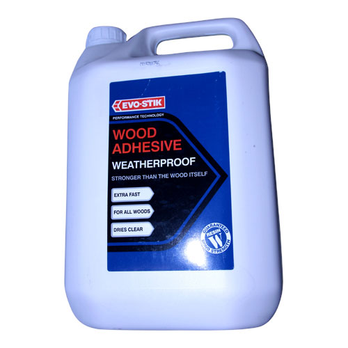 EVO STIK  5LTR RESIN W WATERPROOF WOOD ADHESIVE 30813225