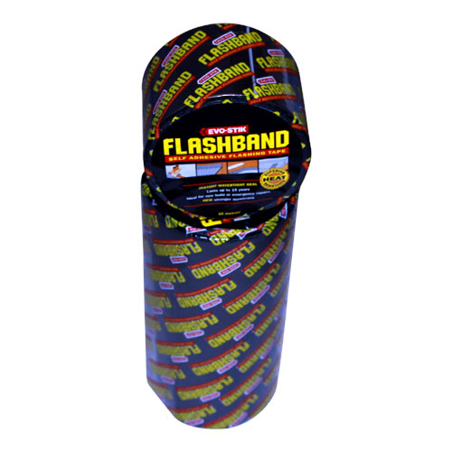 EVO STIK FLASH BAND 10M X 300MM ROLL 30812229