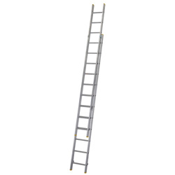 WERNER ALUM 2PCE EXTENSION LADDER 12 RUNG ( 3.53M - 6.03M)