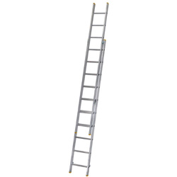 WERNER ALUM 2PCE EXTENSION LADDER 10RUNG (2.97M - 4.91M)