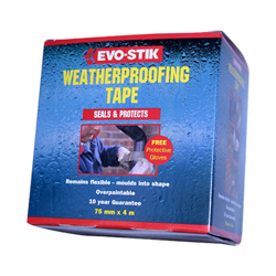 EVO STIK WEATHERPROOFING TAPE 4M X 75MM 30603330