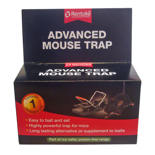FM101 RENTOKIL ADVANCED MOUSE TRAP X 6