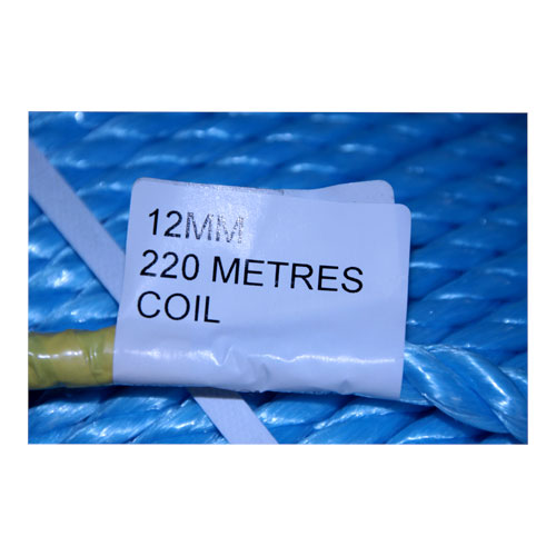 COIL BLUE POLY ROPE 220M X 12MM