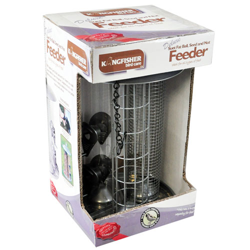 KINGFISHER 3 IN 1 FATBALL SEED NUT FEEDER BF038