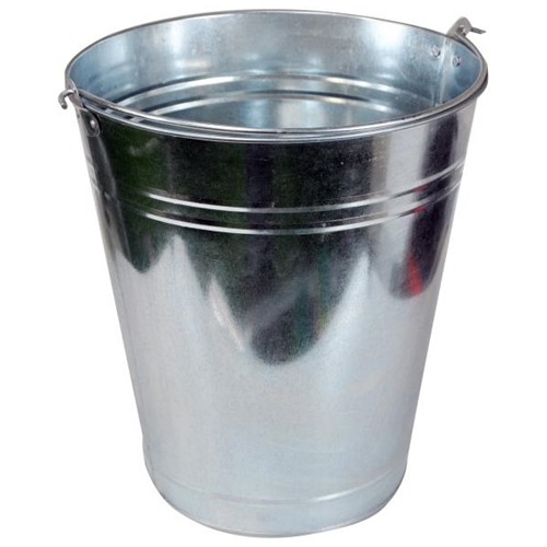 7LTR GALVANISED BUCKET (2684)