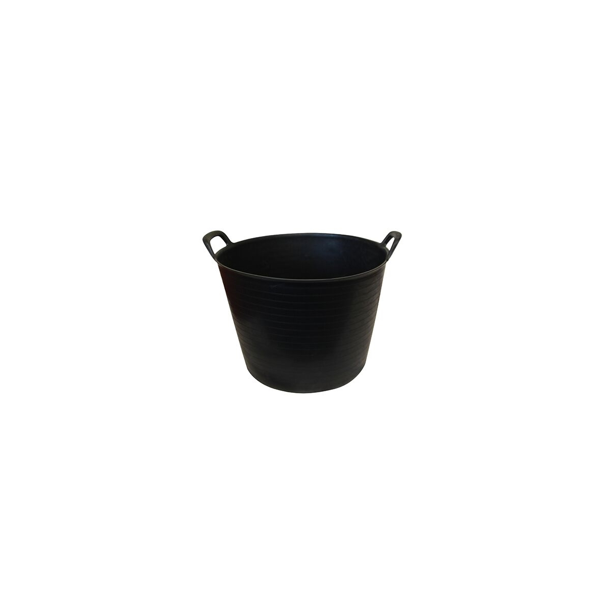 40LTR ECONOMY BLACK FLEXI BUCKET