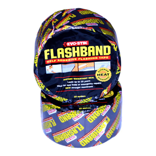EVO STIK FLASH BAND 10M X 75MM ROLL 30812193