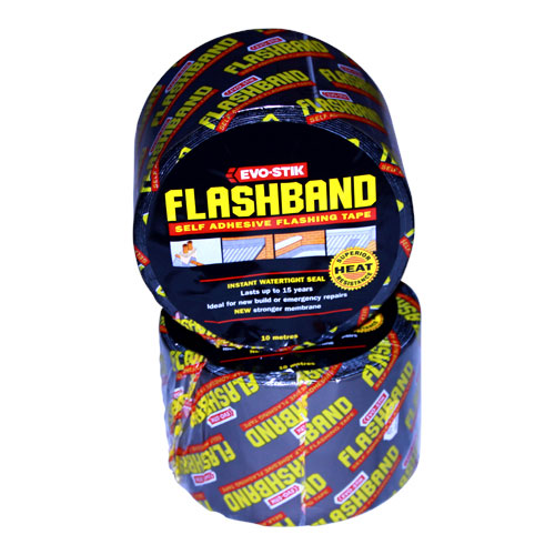 EVO STIK FLASH BAND 10M X 100MM ROLL 30816347