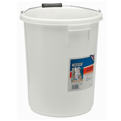 WHITE PLASTERERS BUCKET