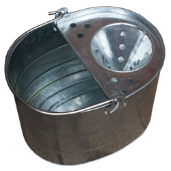 GALVANISED MOP BUCKET 13LTR