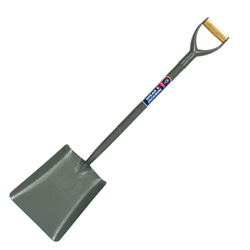 SPEAR & JACKSON CONCRETE SHOVEL STEEL SHAFT
